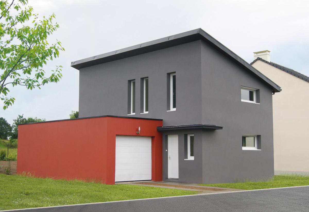 construction maison individuelle contemporaine réalisée par Demeures Nantaises 2